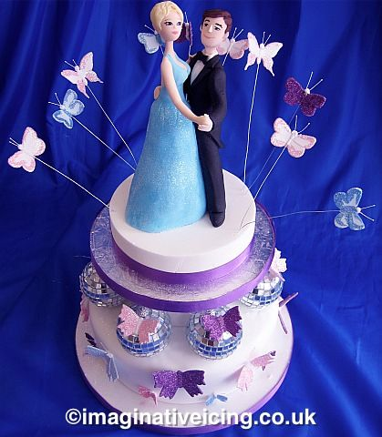 Couple Birthday Cake Pictures : 18 best images about Dancing cake on Pinterest Birthday ...