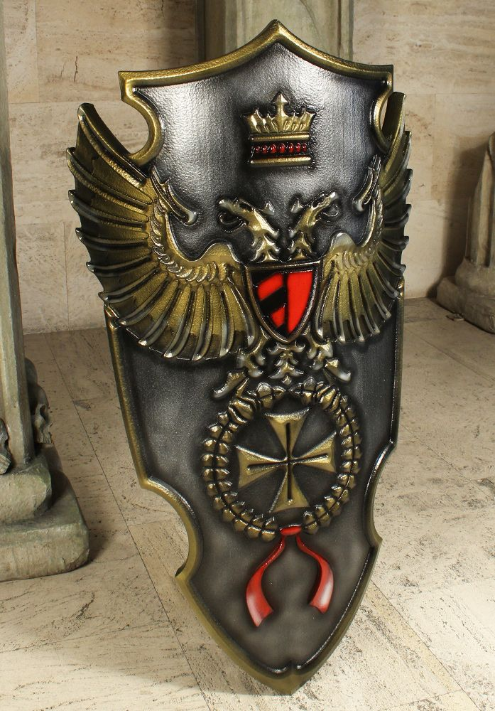 Imperial 2nd Edition Shield Commander, red 102x65cm | mari