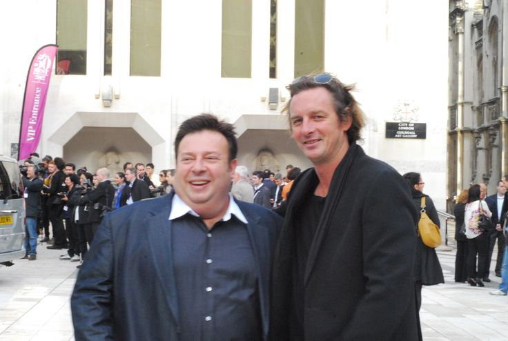 With Peter Gilmore at 50 Best, London