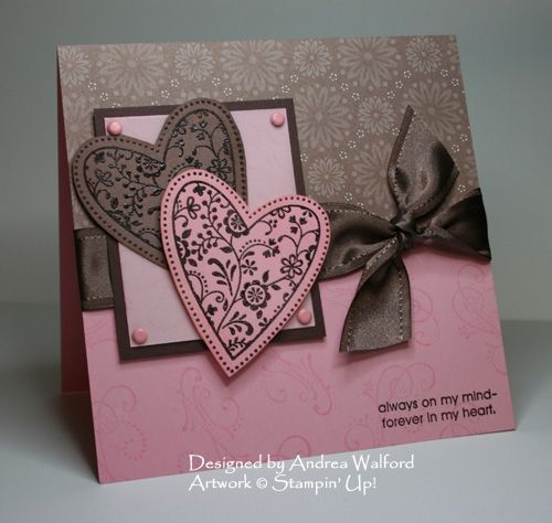 love this card and the color combo: