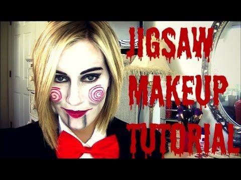 Jigsaw Makeup Tutorial- TheBeautyBenefit01                                                                                                                                                                                 More