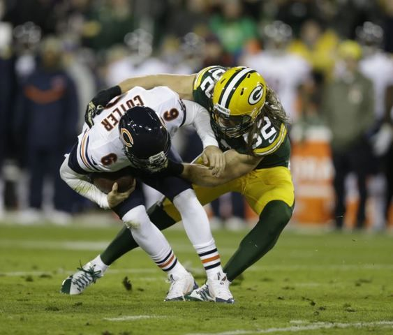 Packers linebacker Clay Matthews will miss playing against Bears' Jay Cutler
