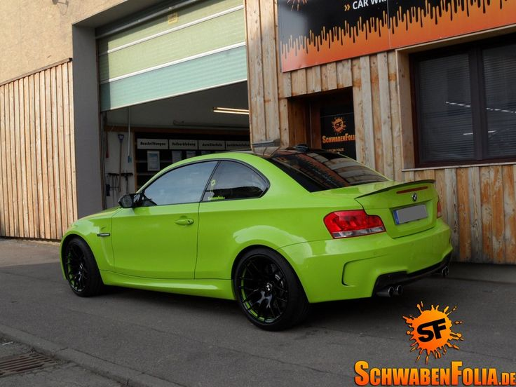 BMW 1er M-Coupe - Irie Green