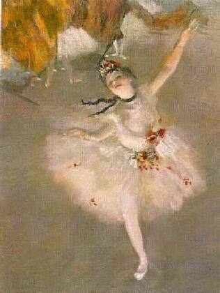 Peintre célèbre-Edgar Degas Danseuse Etoile