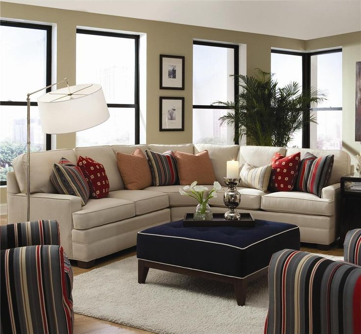 Belfort Furniture 2061 Sectional By Huntington House Northern VirginiaContemporary Living RoomsLiving Room