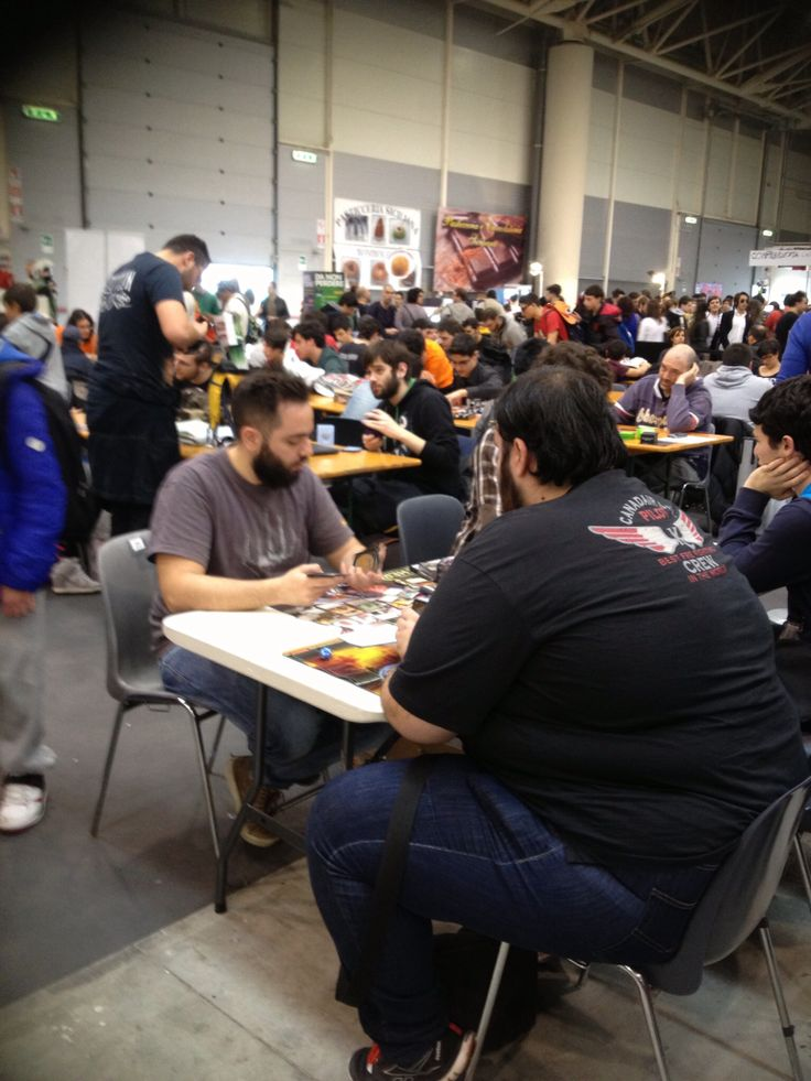 Player, Magic, #Romics,Roma