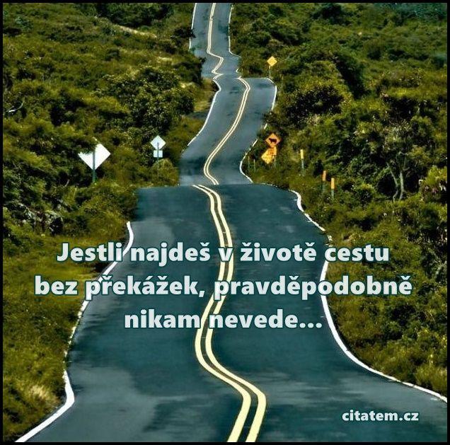 Jestli najdeš v životě cestu