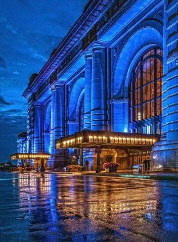Beautiful Union Station in Kansas City, Missouri. Follow our worldwide No Regrets Tour at Zippertravel.com
