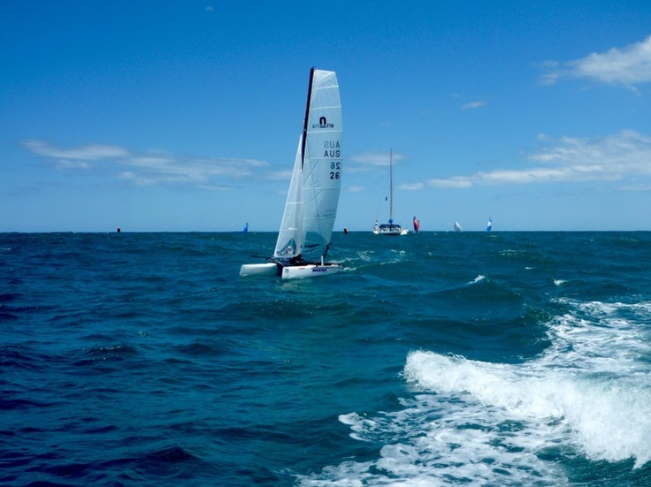 Nacra Infusion Worlds Day 1 - Beach Cats World Network