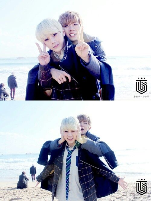 Hansol + Gohn ♥ Topp Dogg