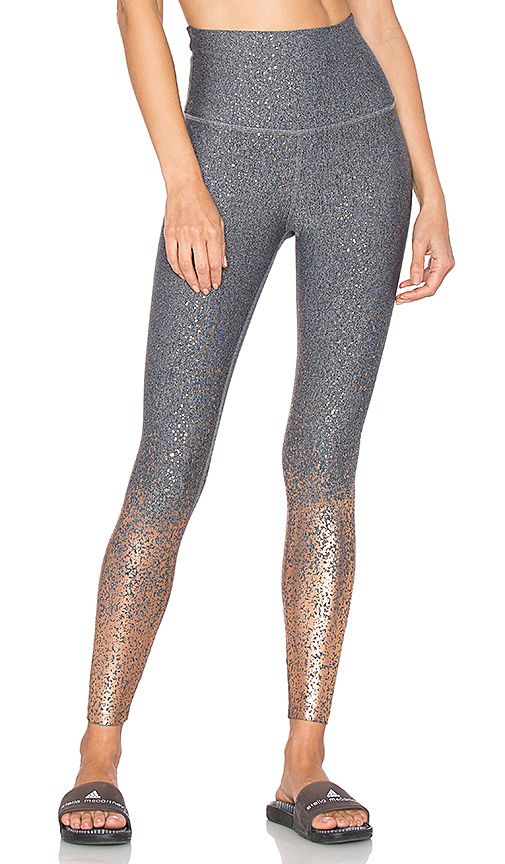 38694b7d1e Shop for Beyond Yoga Alloy High Waisted Legging in Black, White & Rose Gold  at REVOLVE. Free 2-3 day shipping and returns, 30 day price match guarantee.