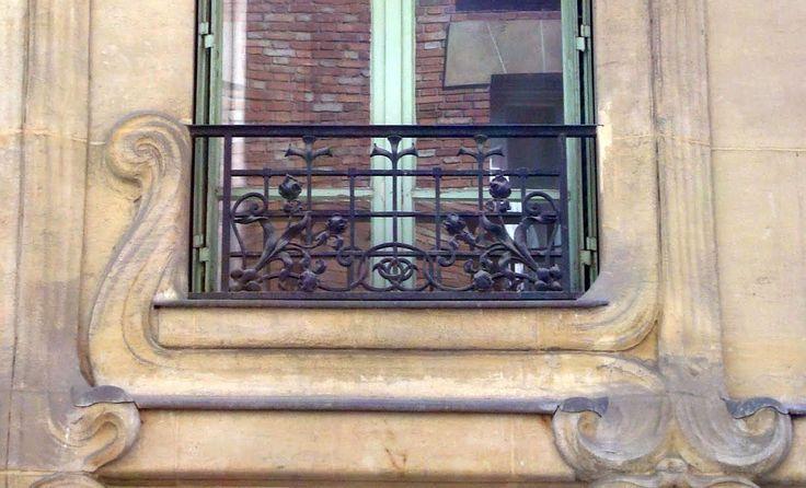 Les 419 meilleures images du tableau art nouveau paris for Art nouveau fenetre