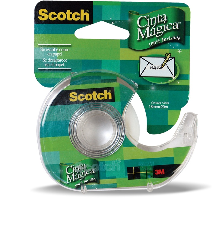 Cinta Mágica con Dispensador #Scotch