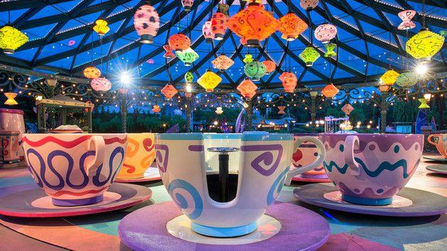 Mad Hatter's Tea Cups   Disneyland Paris Attractions