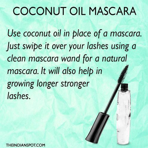 Coconut Oil Beauty Tips