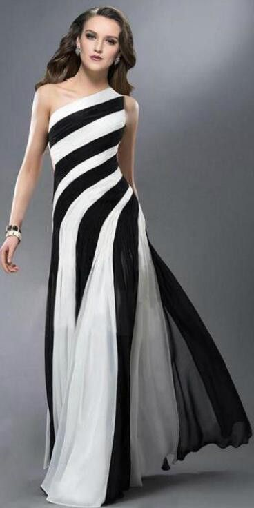 If you wear this dress, you must want to dance. It have pleated big peplum, one shoulder and hollow out waist design. Want this dress? come and buy. Size: S,M,L,XL Color: Stripe Style: Party Dresses P