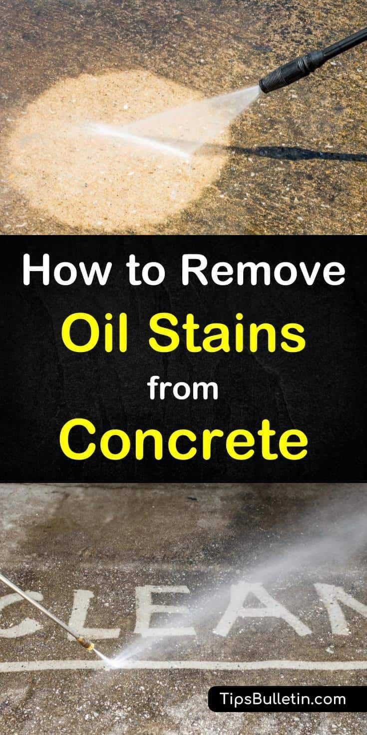 Car Repair And Damage Remove Oil Stains Oil Stains Cleaning Hacks