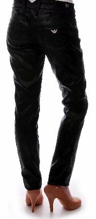 Armani Jeans Womens Cracked Leather Jeans Armani Jeans Womens Cracked Leather Jeans feature a cracked leather style design all over giving a crocodile effect featuring belt loops front pockets silver branded button zip fastening silver br http://www.comparestoreprices.co.uk/designer-clothing/armani-jeans-womens-cracked-leather-jeans.asp