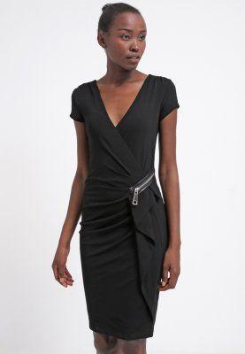 Morgan RAI - Vestido de algodón - noir - Zalando.es