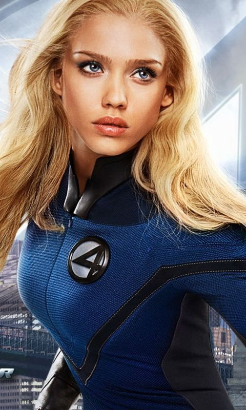 jessica alba fantastic four hair - Google Search