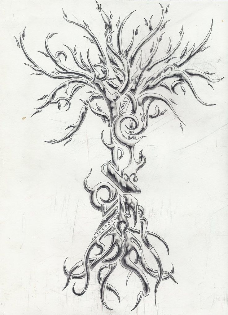 Image Result For Clockwork Tattoo Design Tatuagem De Arvore Tatoo Tatuagems Masculinas
