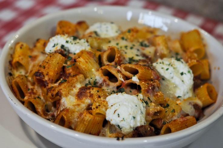 #BucadiBeppo Baked Rigatoni #Italian #food