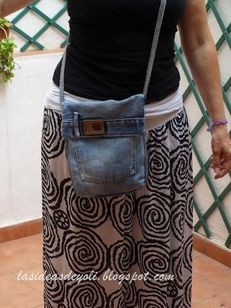 DIY, Bolsos con vaqueros reciclados