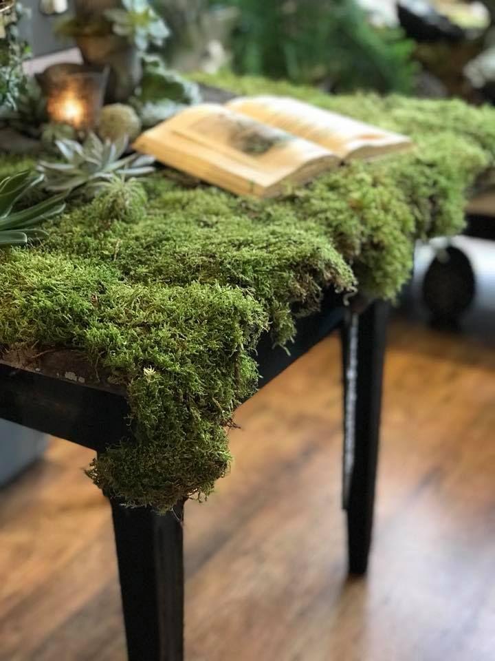 Sammalpöytä