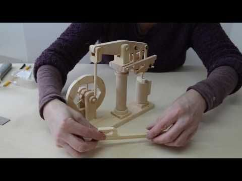 Cat & Mouse Wooded Automata - YouTube