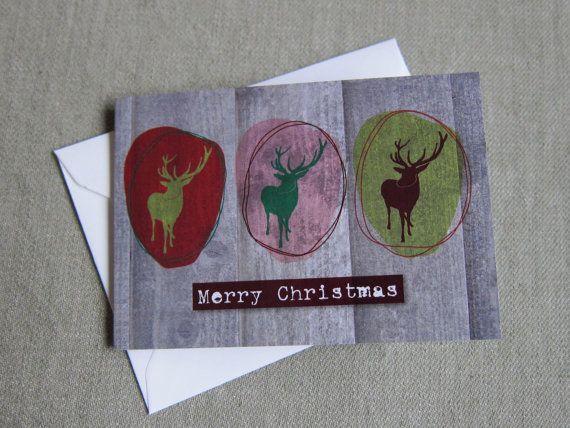 Prachtige kerstkaarten voor de feestdagen. Gedrukt door ZoeBrench, Studio Elli en Zo