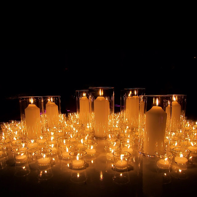 Wedding Altar With Candles: 22 Best There's No Such Thing As Too Many Candles ! Images