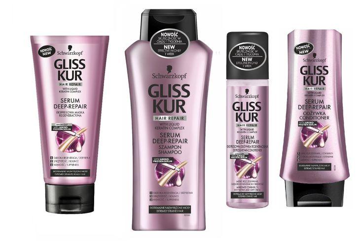 Gliss Kur Serum Deep Repair Shampoo Spray Conditioner Mask ** For more information, visit image link. #hairdo