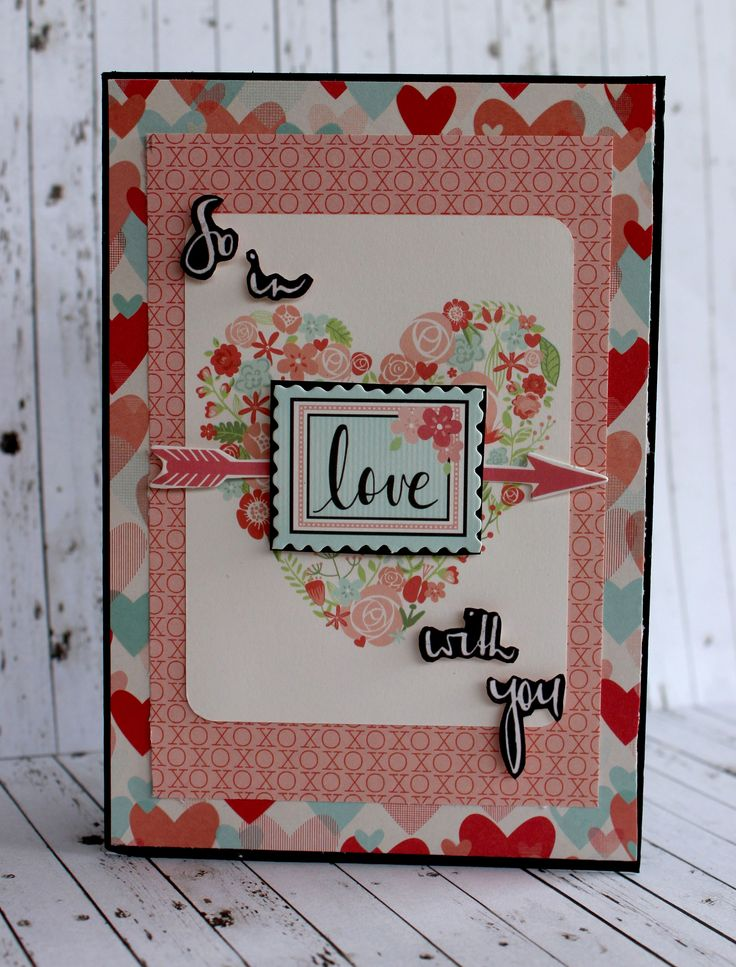 So In Love with You - Valentine Card - Kaisercraft DT - Scrapbook.com