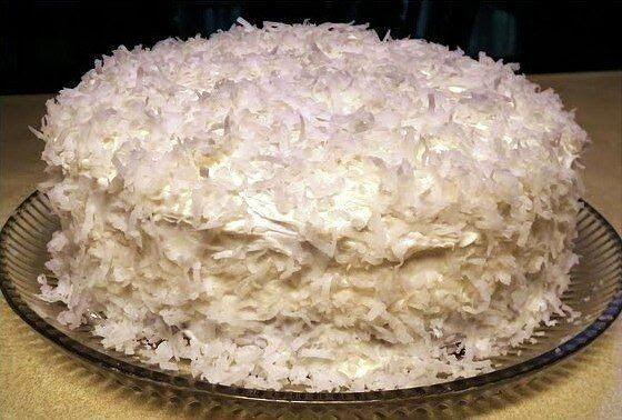 Quick Cake Raffaello                                       Самые вкусные рецепты: Быстрый торт Рафаэлло