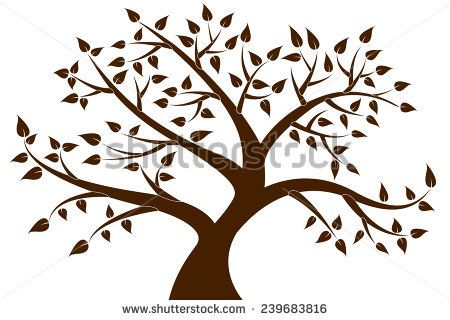 Image result for tree silhouette