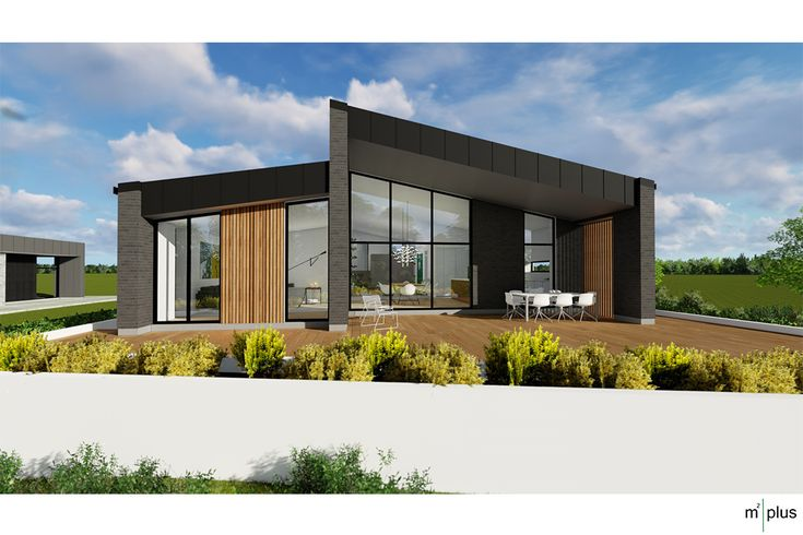 Roskilde 4 - m2plus - arkitekttegnet - villa - funkis - lavenergi-1 plan
