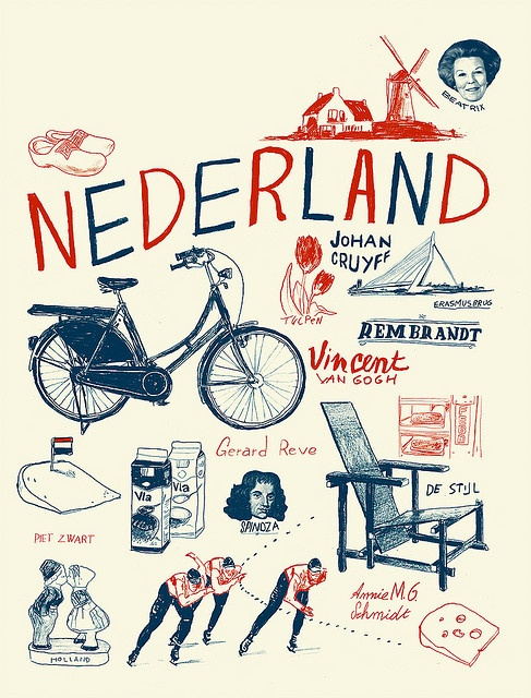 Nederland/the Netherlands by Ward Zwart.