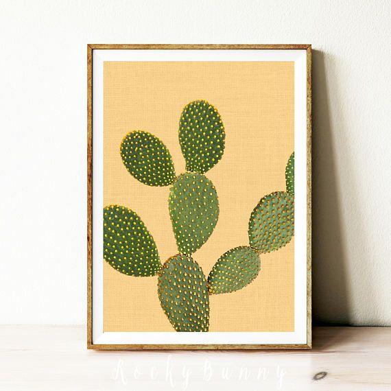 Digital download cactus art cactus print cactus decor