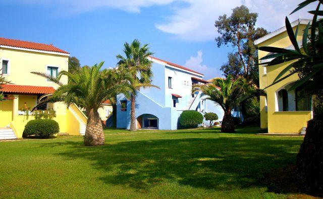 Garden view apartments.