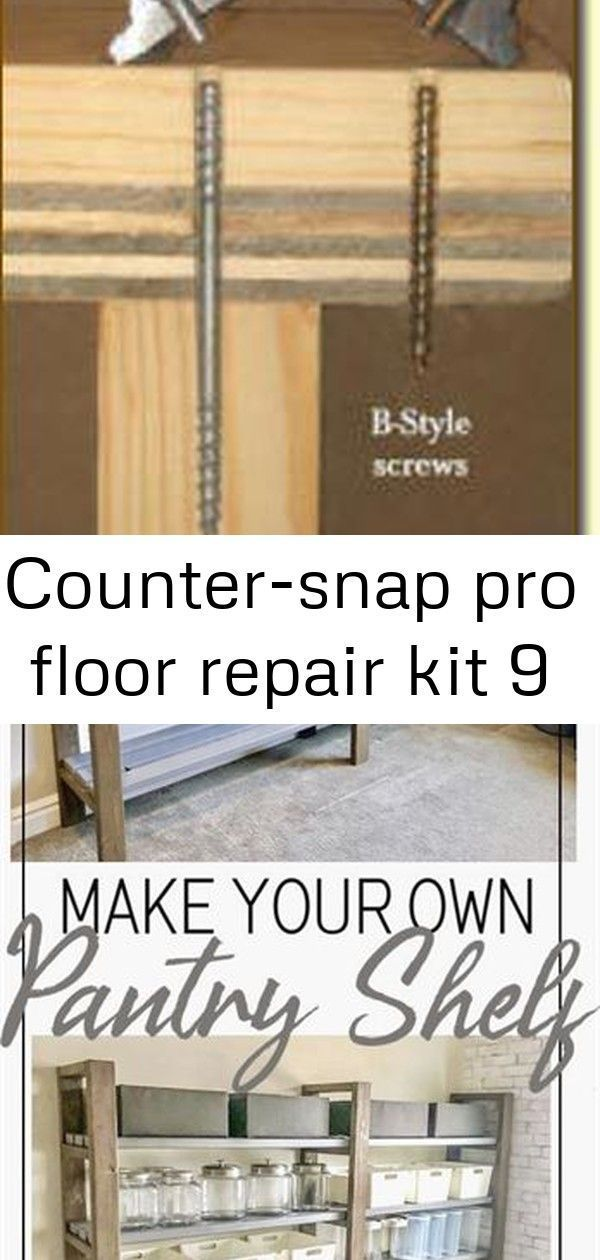 Countersnap Floor Kit Pro Repair Designed To Fix Squeaky Floors Squeak Rel Countersnap Designed Fix Floo In 2020 Fix Squeaky Floors Squeaky Floors Flooring