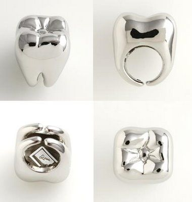 Another way to wear your teeth! #DentalBling