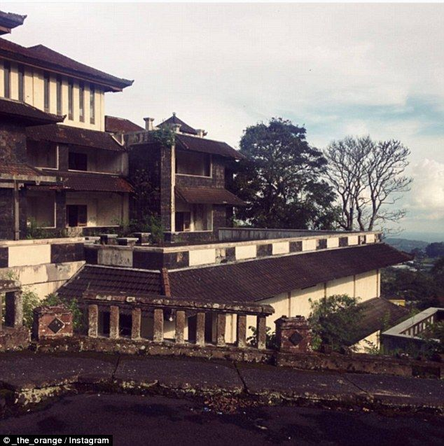 Inside Bali's mysterious Ghost Palace Hotel  #bali #bedugul #guide #balithisweek