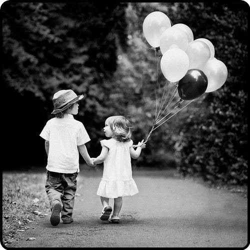 Idea for girls at 2 years? With the number of black balloons representing their age