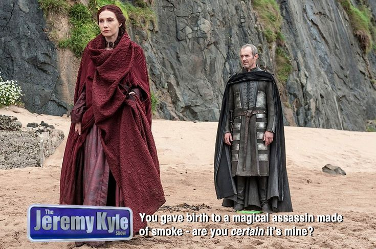 """If """"Game Of Thrones"""" Characters Were On """"The Jeremy Kyle Show"""""""