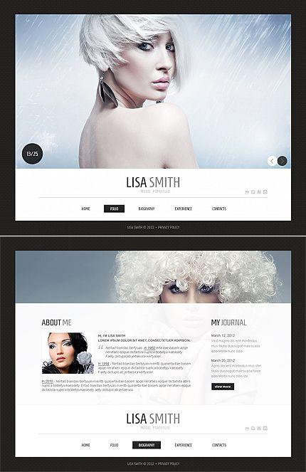 Lisa Smith Moto CMS HTML Templates by Delta