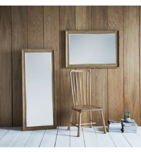 Contemporary mirror with oak effect angled frame. http://www.alexanderandpearl.co.uk/zara-rectangle-contemporary-mirror-21840-p.asp