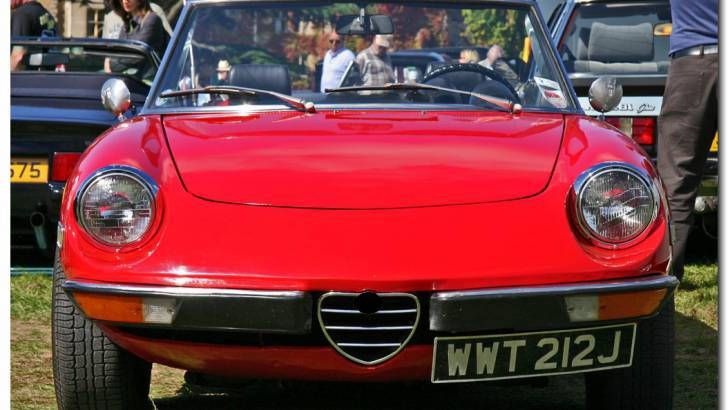 For our grand finale: a '60s piece of luxury muscle. Can you finish off with a win?The Alfa Romeo Spider is one of the brand's most famous models, being produced from 1966 - 1993. -- Answer: 1966 Alfa Romeo Spider Duetto -- #Cars