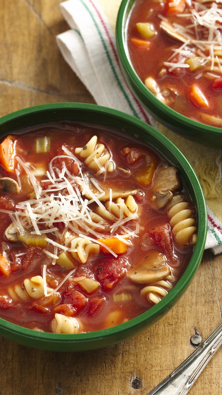 """""""A big hit! One diner commented that the flavor was just like what you would get at a family owned Italian restaurant. """" - Slow Cooker Vegetable Minestrone"""