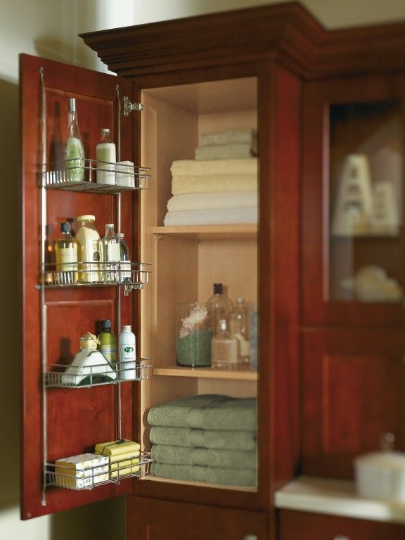 thomasville cabinetry 39 s linen rack gives you that extra space you 39 ve
