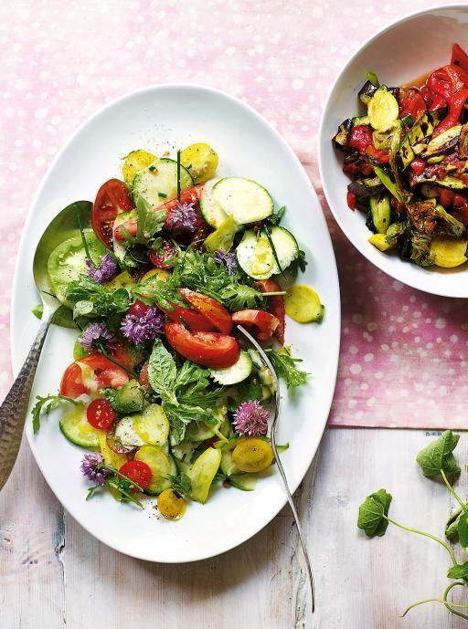 Summer ratatouille salad. Free From RecipesJamie .....